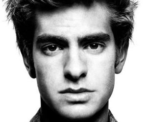 andrew garfield, boy, and black and white image
