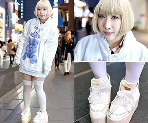 Harajuku and white image