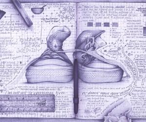 converse, drawing, and art image