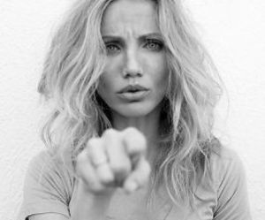 cameron diaz and blond image