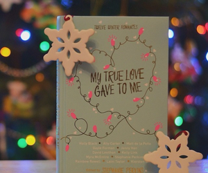 book, christmas, and read image