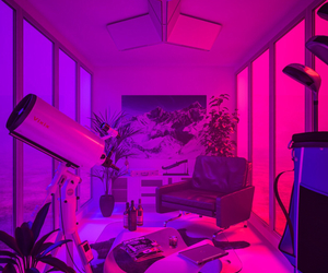 pink, purple, and neon image