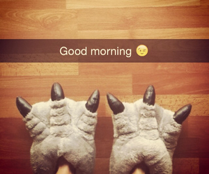 good morning, monster, and morning image