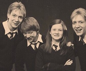 harry potter, ron, and weasley image