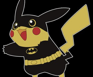 pikachu and batman image