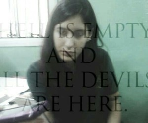 black, Devil, and empty image