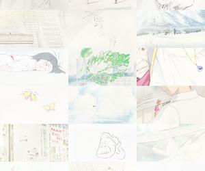 white, anime, and ghibli image