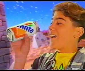 can, coke, and commercial image