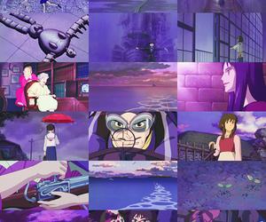 purple, anime, and ghibli image
