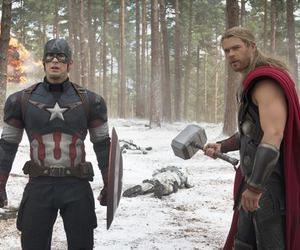 captain america, Avengers, and thor image