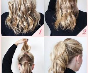 diy, hair, and facil image