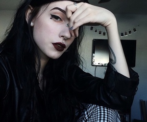 black, girl, and tv image
