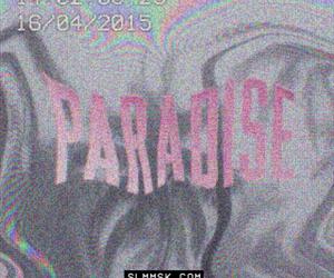 grunge, pale, and paradise image