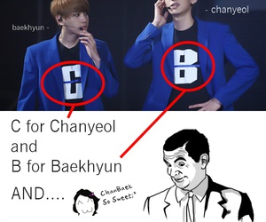 exo, kpop, and chanbaek image