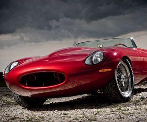 car and jaguar eagle image