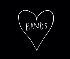 band, love, and music image