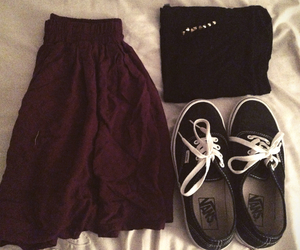 black, hipster, and outfit image