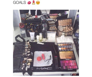 goals, mac, and makeup image
