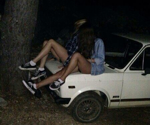 car, Darkness, and friends image