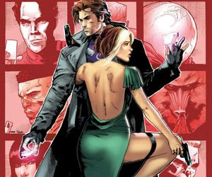 gambit, Marvel, and Rogue image