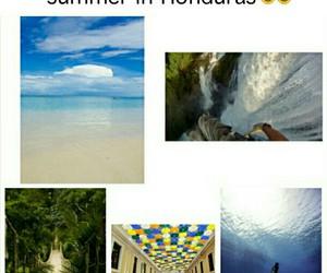 beach, bikini, and bridge image