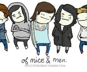 of mice & men and cute image