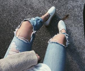 grunge, steve madden, and jeans image