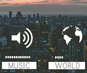 music, world, and love image