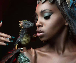 dragons, pagan, and wiccan image