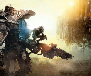 titanfall, game, and wallpaper image