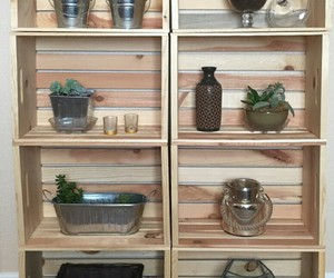 crate shelves and diy shelves image