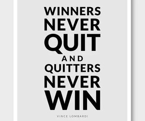 quote, winner, and win image