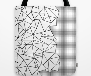 abstract, black, and geometric image