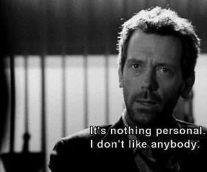 dr house, hater, and people image