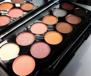 eyeshadow, girl, and makeup image