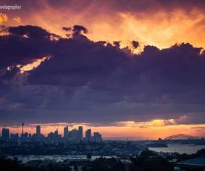 australia and sunset image