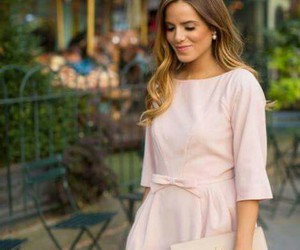 beautiful dress, pastel, and clutch image