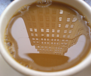 coffe, new york, and drink image