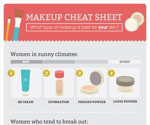 make up, skin, and tutorial image