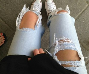 fashion, hipster, and jeans image
