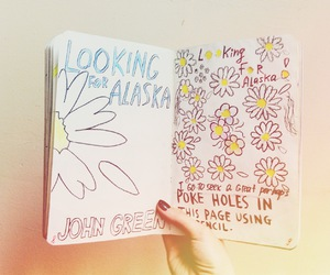 cool, john green, and looking for alaska image