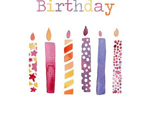 bday, birthday, and candles image