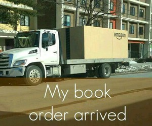 book, Amazon, and reading image