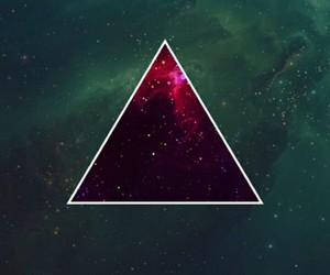 triangle, hipster, and wallpaper image