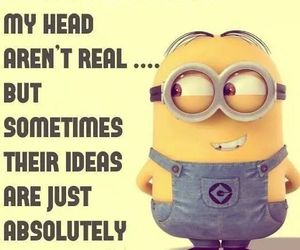 minions, funny, and voice image