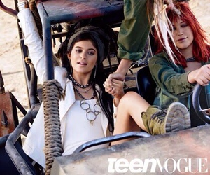 kylie jenner and Teen Vogue image