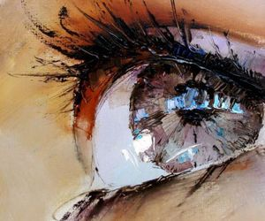 eye, art, and painting image