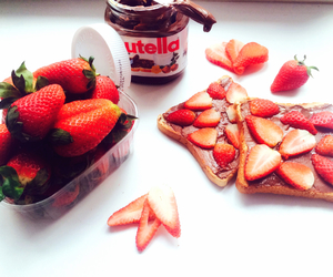 delicious, strawberry, and food image