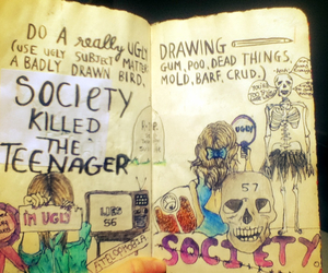 art, society, and doodle image