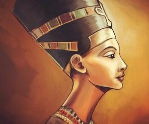 nefertiti and egypt image
